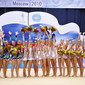 Rhythmic WCh Moscow/RUS 2010: podium groups all-around