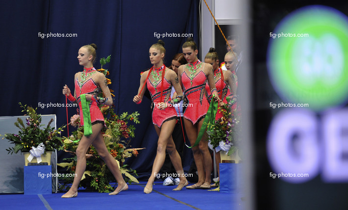 Rhythmic WCh Moscow/RUS 2010: group GER