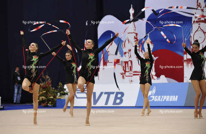 Rhythmic WCh Moscow/RUS 2010: group ESP