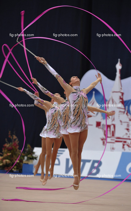 Rhythmic WCh Moscow/RUS 2010: group ITA