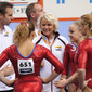 Artistic WCh Rotterdam/NED 2010: team NED with coach