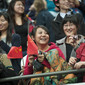 Artistic WCh Rotterdam/NED 2010: fans CHN