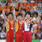 Artistic WCh Rotterdam/NED 2010: podium parallel bars