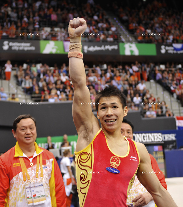 Artistic WCh Rotterdam/NED 2010: ZHANG Chenglong/CHN