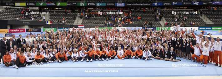 Artistic WCh Rotterdam/NED 2010: all volunteers