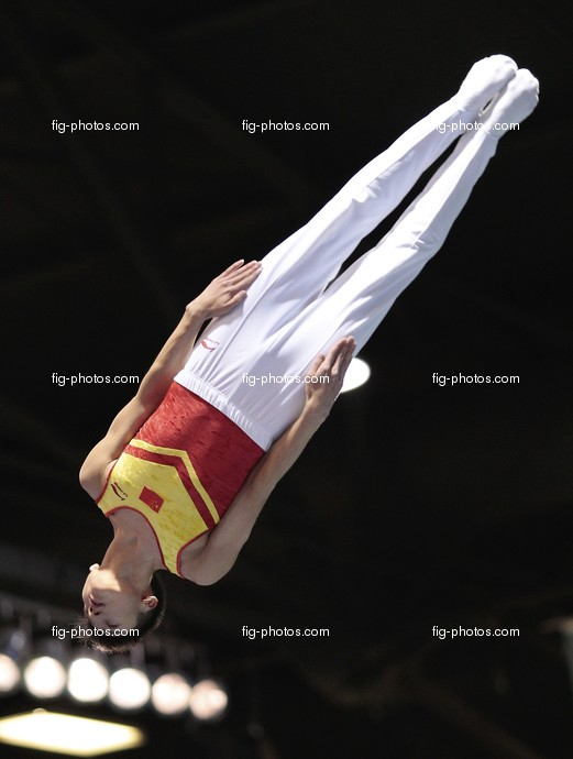 WC-Quebec: DONG Dong/CHN, Trampoline WCh Quebec/CAN 2007
