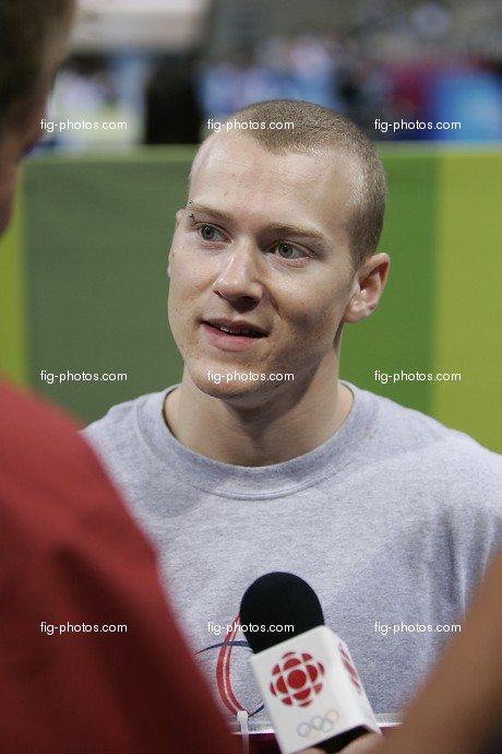 Athens2004: Shewfelt, Kyle/CAN, interview