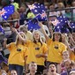 WC-Melbourne: fans with flags from AUS