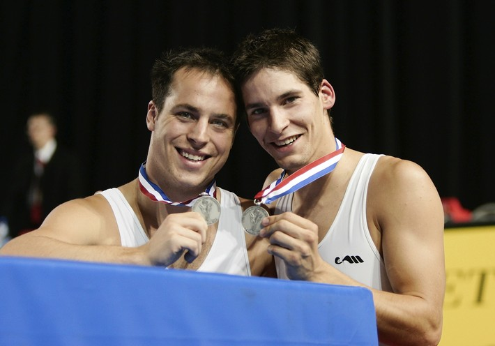 Trampoline-WC: Boillet, Martin/SUI with medals