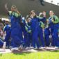 WG-Lausanne 2011: opening ceremony at the Pontaise Olympic Stadium