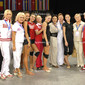 Rhythmic WCh Montpellier/FRA 2011:  team RUS with coaches