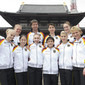 Artistic WCh Tokyo/JPN 2011: women's team GER with coaches