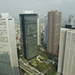 Artistic WCh Tokyo/JPN 2011: view from METROPOLITAN Government (45th floor)