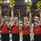 Trampoline WCh Birmingham/GBR 2011: mens team CAN