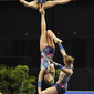 Acrobatic WCh 2012 Lake Buena Vista Florida: women's group POL, BEKER Kinga GRZESKOW Kinga KOWALSKA Kamila