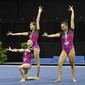Acrobatic WCh 2012 Lake Buena Vista Florida: women's group POR1, MATOS PEREIRA Ana Catarina GONCALVES PIQUEIRO Leonor MARCELINO LEAL Daniela
