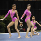 Acrobatic WCh 2012 Lake Buena Vista Florida: women's group, WALDUCK Liliane MORRISON Casey CAMPBELL-WHITE Amber GBR1