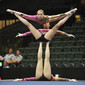 Acrobatic WCh 2012 Lake Buena Vista Florida: women's group FRA, BAYON Madeleine COSTES Alizee KERRENEUR Ocean