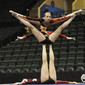 Acrobatic WCh 2012 Lake Buena Vista Florida: women's group FRA, BAYON Madeleine COSTES Alizee KERRENEUR Oceane