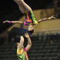 Acrobatic WCh 2012 Lake Buena Vista Florida: mixed pair BLR, VAITSIAKHOUSKI Yury KASHPANAVA Anzhalika