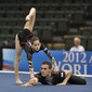 Acrobatic WCh 2012 Lake Buena Vista Florida: mixed pair ISR, MOZES Amir ARMONY Or