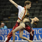 Acrobatic WCh 2012 Lake Buena Vista Florida: mixed pair BEL, VLEESHOUWERS Nicolas DEPRYCK Laure