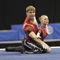 Acrobatic WCh 2012 Lake Buena Vista Florida: mixed pair GER2, LAICHINGER Kornelia REIN Nikolai