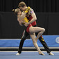Acrobatic WCh 2012 Lake Buena Vista Florida: mixed pair USA, STANKUS Kelianne MAURER Dylan