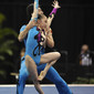 Acrobatic WCh 2012 Lake Buena Vista Florida: mixed pair CHN, SHEN Yunyun LIU Qi